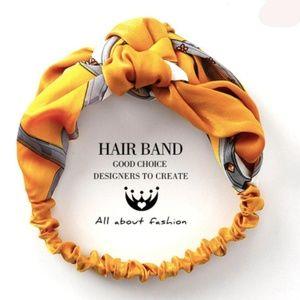 NWT Bright Yellow Headwrap Headband